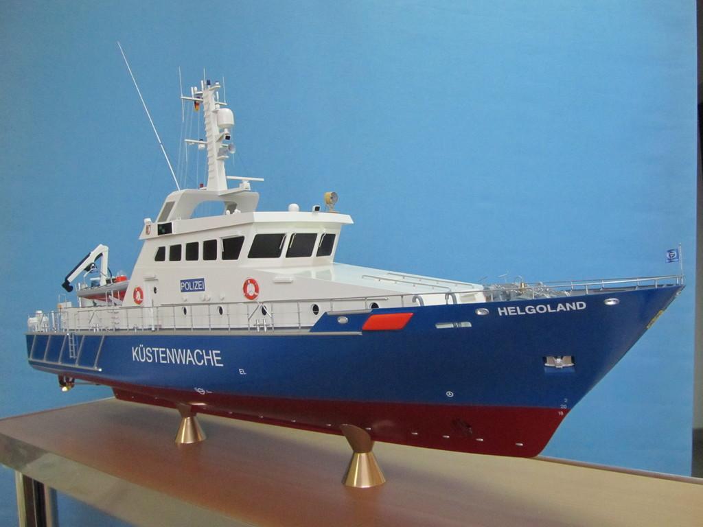 Polizeiboot Helgoland
