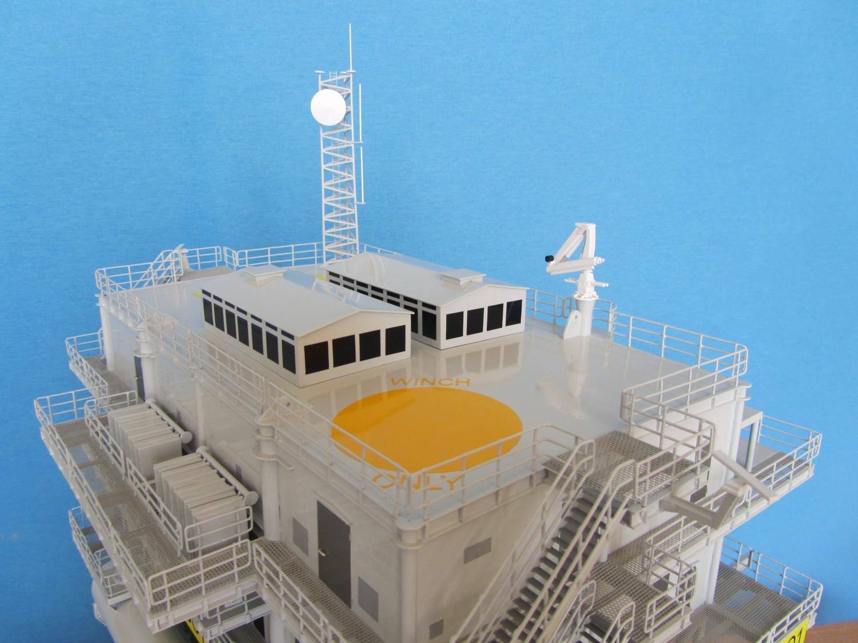 Substation Topside For Walney Offshore Wind Farm Modelart